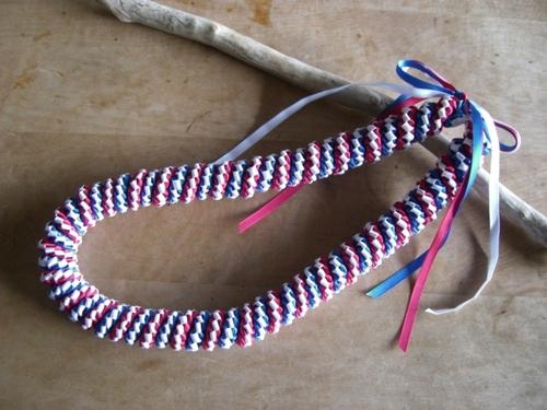 Circle Weave Lei